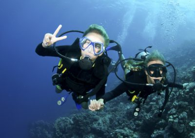 fun for our Students in the PADI Open Water Diver Course